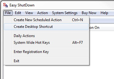Create Desktop Shortcut