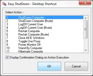 Shut Down Computer Shortcut