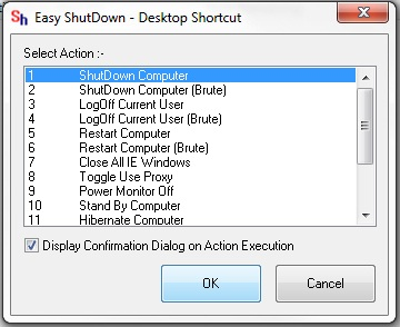 Create Desktop Shortcut to Shut Down Computer and Shut Down
