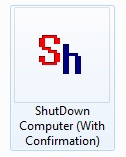 Shutdown Computer Desktop Shortcut